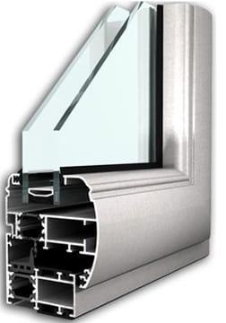 infissi in alluminio taglio termico roma
